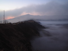 Thick early morning cloud (Crap screen name) Tags: indonesia mountbromo