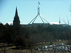Parliament building, from my hotel room