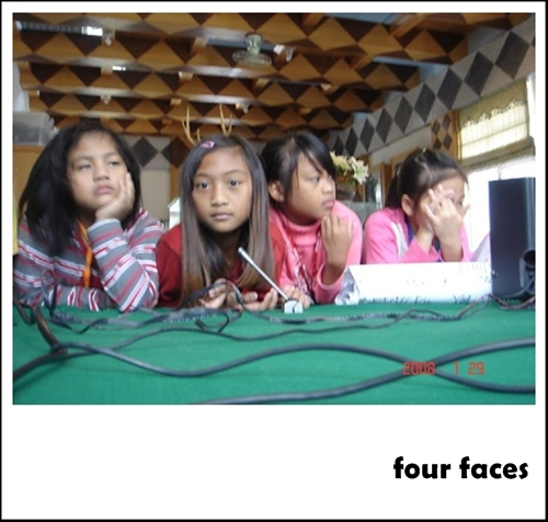 four faces