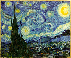 Giaman, Starry Night, 2016 (atelier nerodimARTE) Tags: art fakes oiloncanvas oilpaintings kunst colors farben artworks vangogh impressionisme