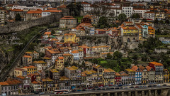 Patchwork - II (Fred&rique) Tags: lumixfz1000 photoshop raw hdr porto portugal architecture maisons vue couleurs remparts douro