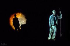 family   llechwedd slate caverns (John FotoHouse) Tags: llechwedd slate wales cymru underground dolan flickr fujifilmx100s fuji johnfotohouse johndolan leedsflickrgroup copyrightjdolan color colour mining projection