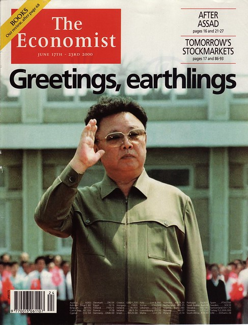 Front page of The Economist, 17 June 2000