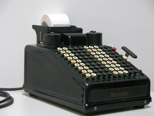 Awesome Vintage Adding Machine