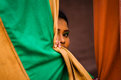 A life untrue [..Narayanganj, Bangladesh..] (Catch the dream) Tags: portrait woman colors girl look eyes colorful artist alone veil circus makeup singer peep lonely cloth melancholy performer bangladesh folds circusperformer aloof clothe q2 catchthedream mohammadmoniruzzaman circustroupe gettyimagesbangladeshq2 artistofcircus gettyimagesbangladesh