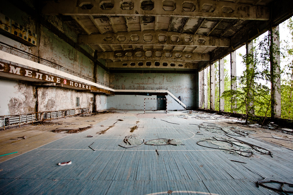 Chernobyl: No gym today