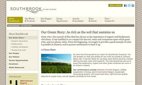 Southbrook.com screengrab 1