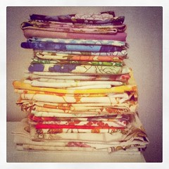 Vintage Sheet FQ stack