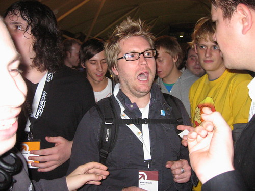 Alex Diggnation in London