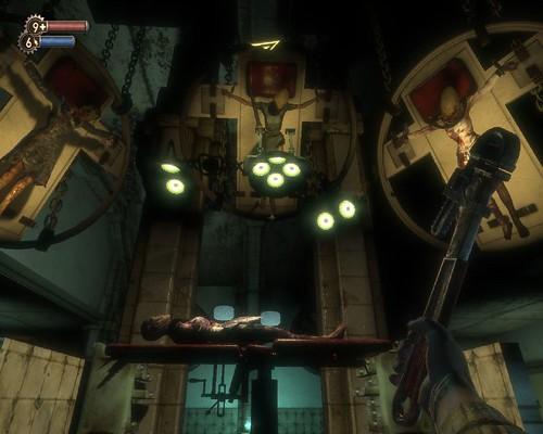 恐怖的風格瀰漫著整個BioShock
