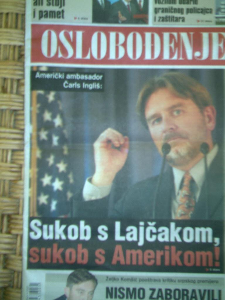 Sukob s Lajcakom sukob s Amerikom!