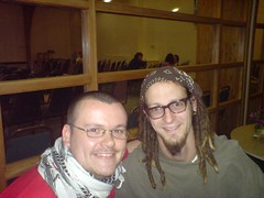 Shane Claiborne and me