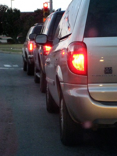 Queued Vehicles