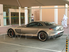 VIP Parking (WanderWorks) Tags: slr car mall mercedes parking mclaren mercedesbenz qatar 722