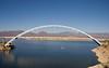 Roosevelt Lake Bridge (janinewhite) Tags: bridge arizona 15fav usa lake water boat desert istockphoto stock engineering az apachetrail rooseveltlake rooseveltlakebridge