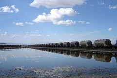 magadi reflections (crazykanga) Tags: lake train kenya soda bigmomma magadi mywinners photofaceoffwinner pfogold herowinner