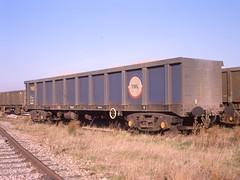 po-03260-trl-PXA-Grain-1989-01 (hmillington) Tags: britishrail mamiya645 railfreight railwaywagon scanfrom645transparency