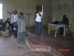 Preaching in Galana