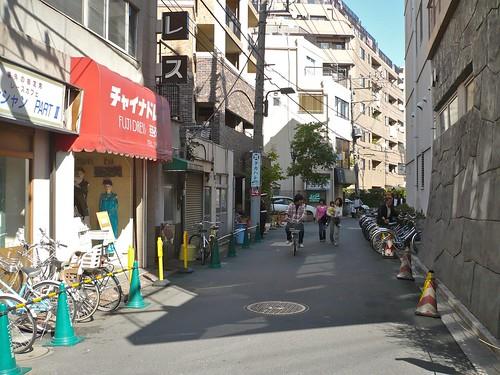 Small street in Asakusa