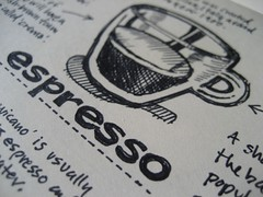 Espresso Sketchtoon (Close-up)