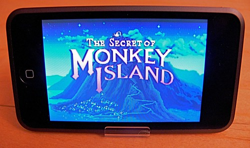 ScummVM: Monkey Island on iPod Touch!
