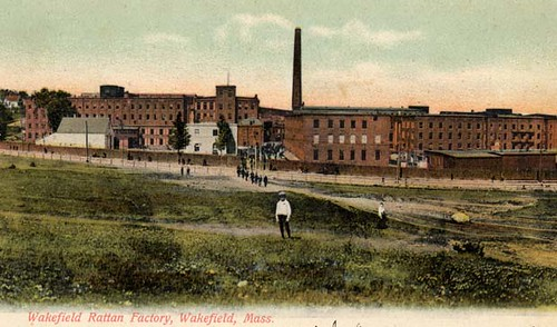 Wakefield Rattan Factory, Wakefield, MA