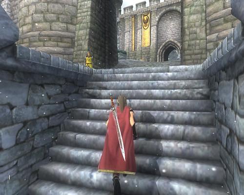 雪のBruma城
