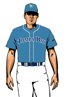 [NEW UNIFORMS] Possible Glimpse At Tampa Bay Rays Alternate Uniform To Debut In 2009