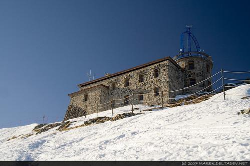 Obserwatorium na szczycie Kasprowego