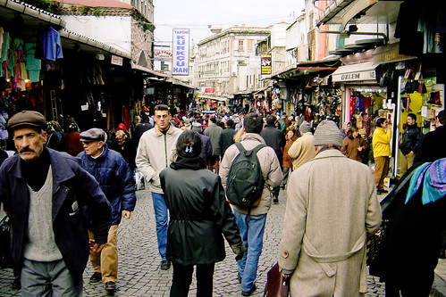 [Street near Istanbul Bazaar]