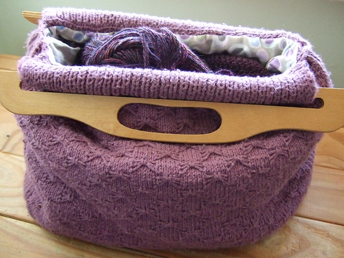 Knitted Bag Patterns For Beginners : KNITTING BAGS PATTERNS FREE PATTERNS