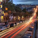 Alamo Square - View Westward