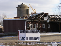 Edwards Apple Orchard - Thanks For Your Prayers (Wisconsin Engineer) Tags: aftermath tornado stormdamage tornadodamage freakstorm blueribbonwinner