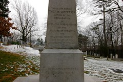 Mr. Jefferson's headstone