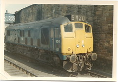 Class 24 No.5124 Perth 1969 (rugd1022) Tags: uk railways