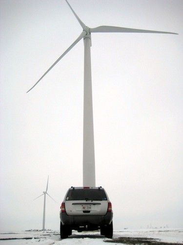 Wind Mill Generating Renewable Energy