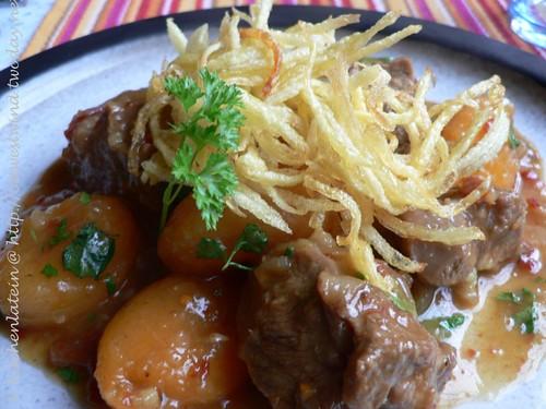 Aprikosen- Lamm- Curry (Jardaloo ma Gosht ) 002