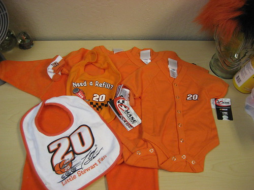 Infant Tony stewart wardrobe