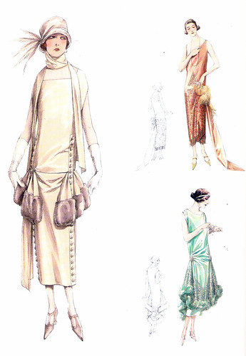 Atelier Bachwitz 1925 fashion plate by starduste.