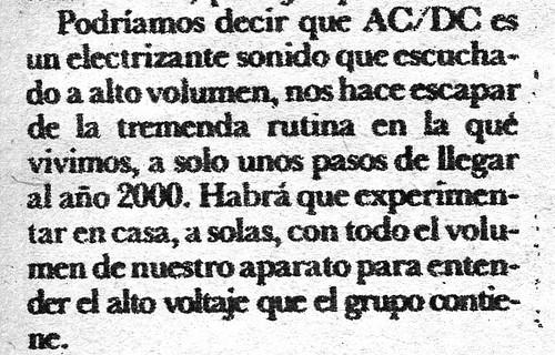 ac/dc zine quote