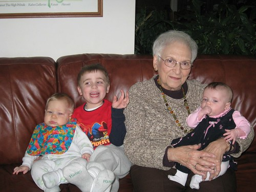 Mimi & Great grandkids - take 2