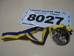 #8027 & Finisher's Medal
