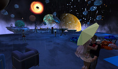 Inspire Space Park ... raining? (Earth Primbee) Tags: life park media space virtual second inspire