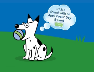 Dogpile April Fools