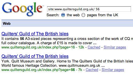 Google Strangeness