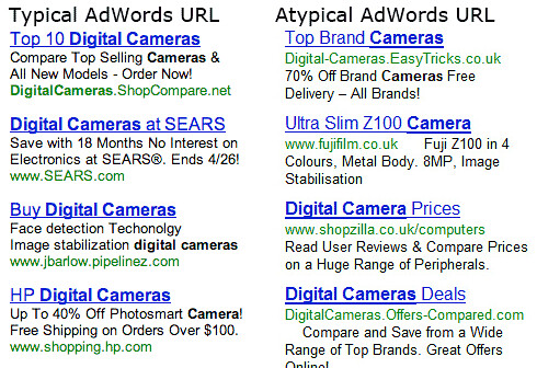 Google Flips AdWords URLs