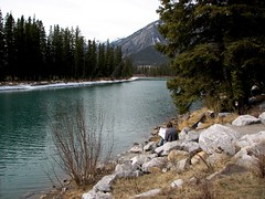 Bow River at Banff (tuchodi) Tags: alberta banff rockymountains bowriver
