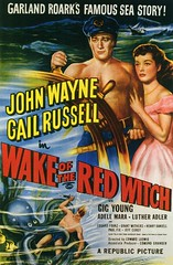 Wake Of The Red Witch (1948) (starring John Wayne & Gail Russell with Gig Young) (movie poster)