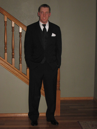 Jake in tux for Prom