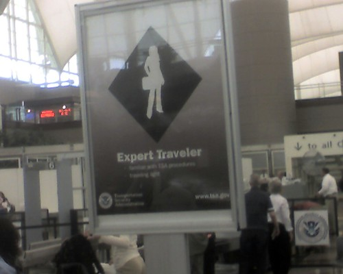 Expert Traveler Line at DEN